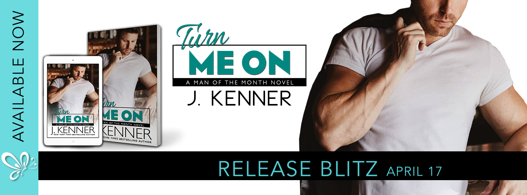 Release Blitz Review:  Turn Me On (Man of the Month #7) by J. Kenner