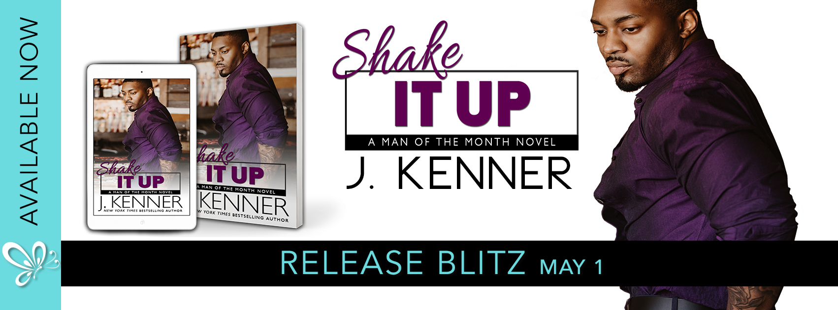 Release Blitz:  Shake It Up (Man of the Month Series #8) by J. Kenner