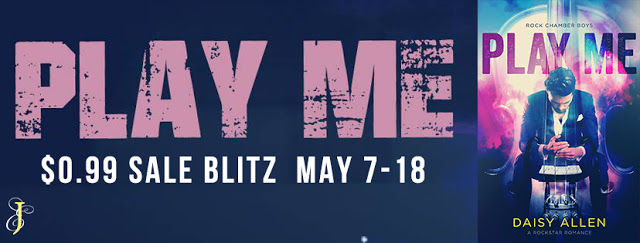 Sales Blitz with Giveaway:  Play Me (Rock Chamber Boys Series) by Daisy Allen