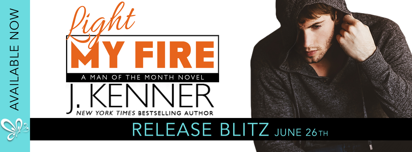 Release Blitz Review:  Light My  Fire (Man of the Month Series #11) by J. Kenner