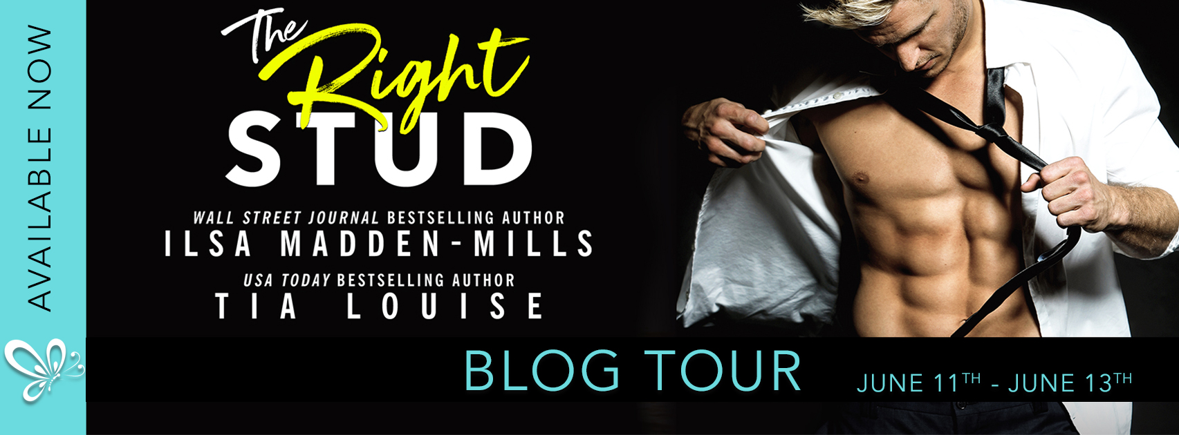 Blog Tour:  The Right Stud by Ilsa Madden-Mills and Tia Louise