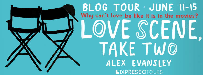 Blog Tour Author Interview with Giveaway:  Love Scene, Take Two by Alex Evansley