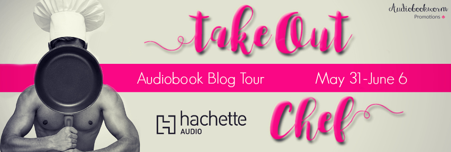 Audiobook Blog Tour with Giveaway:  Take Out Chef by Gaby Cabezut