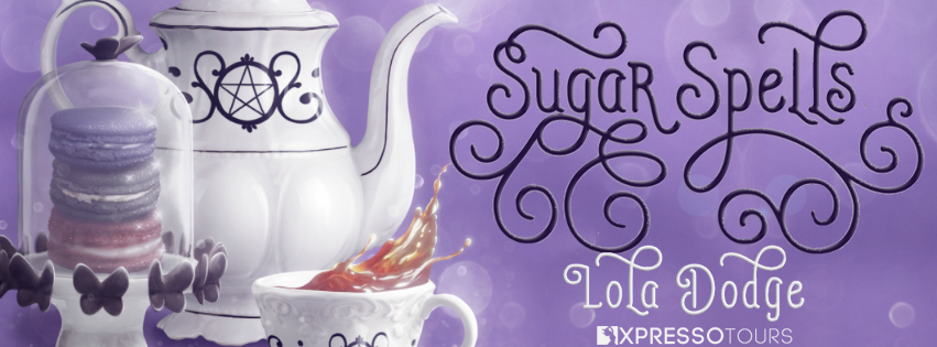 Cover Reveal:  Sugar Spells (The Spellwork Syndicate #2) by Lola Dodge