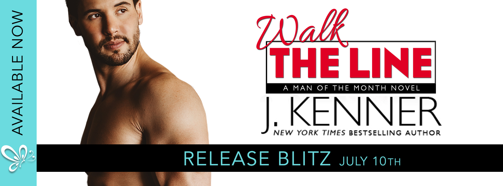 Release Blitz Review:  Walk the Line (Man of the Month #12) by J. Kenner