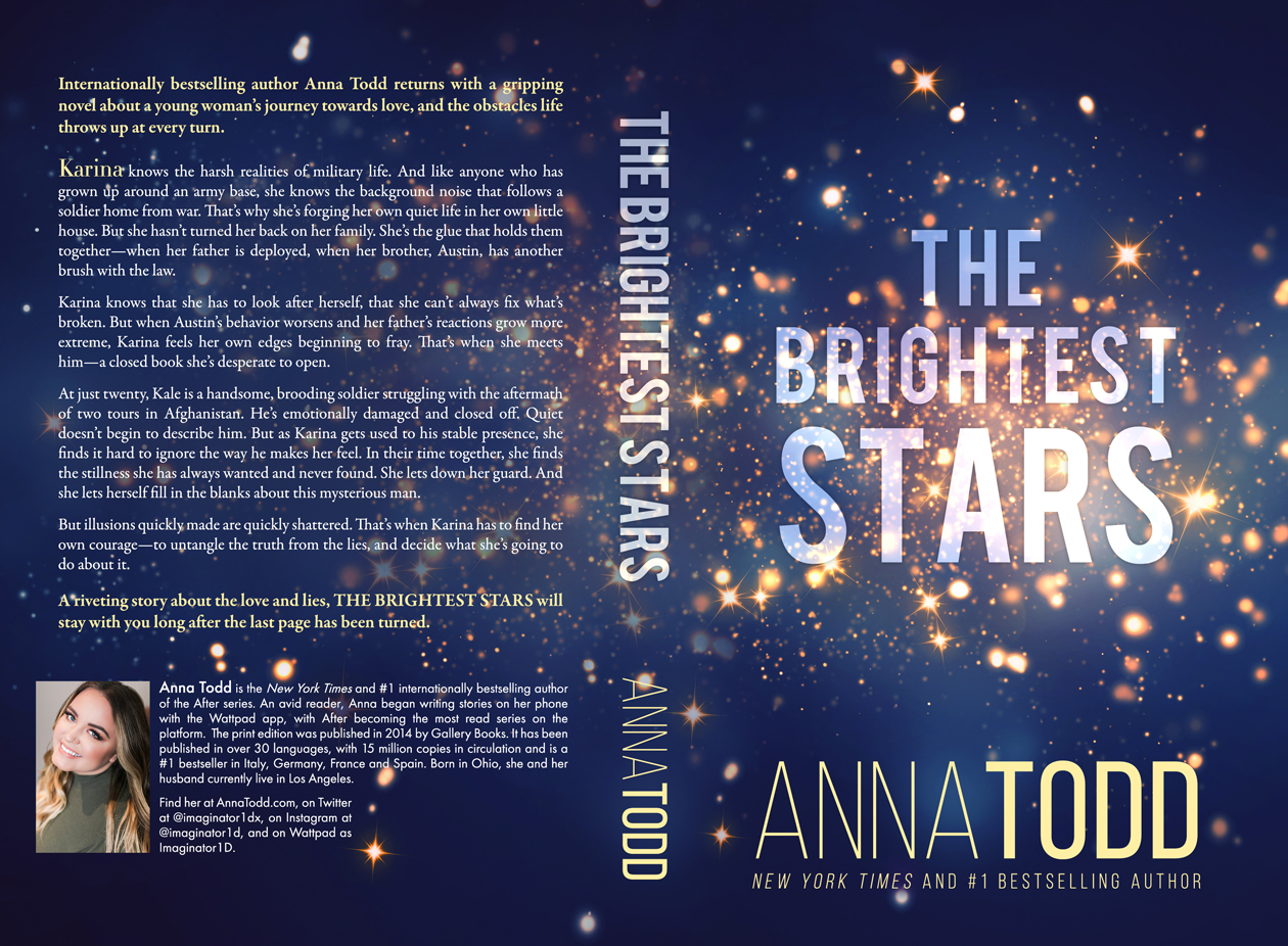 Book Announcement:  The Brightest Stars by Anna Todd