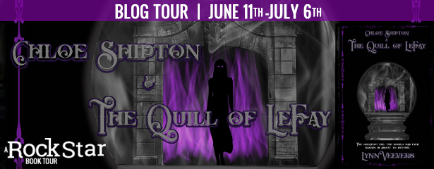 Blog Tour Author Interview with Giveaway:  Chloe Shipton and the Quill of LeFay by Lynn Veevers