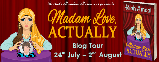 Blog Tour Review with Giveaway:  Madam Love, Actually by Rich Amooi