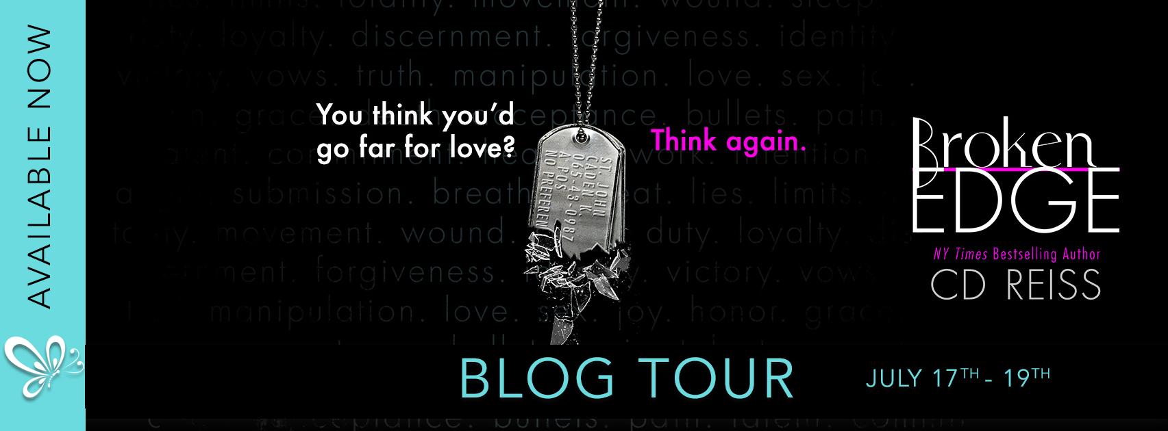 Blog Tour:  Broken Edge (The Edge Series #3) by CD Reiss
