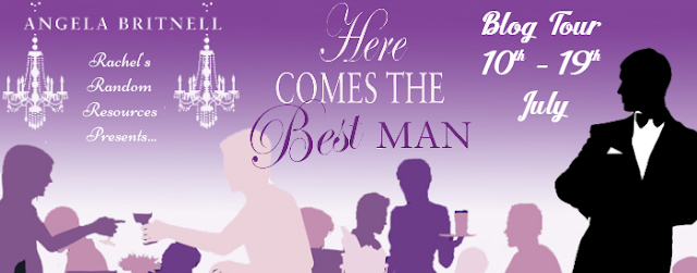 Blog Tour Review:  Here Comes the Best Man (Nashville Connections) by Angela Britnell @rararesources