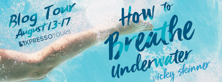 Blog Tour Author Interview with Giveaway:  How to Breathe Underwater by Vicky Skinner