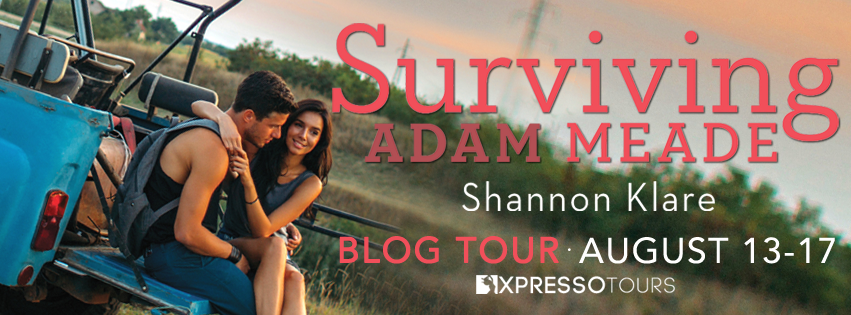 Blog Tour Review with Giveaway:  Surviving Adam Meade by Shannon Klare