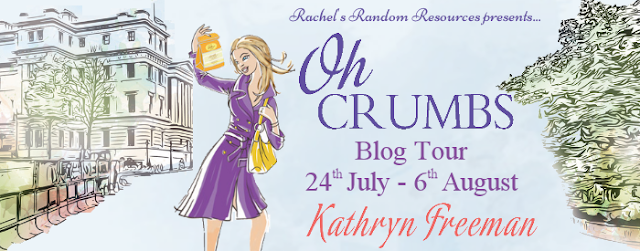 Promo Post with Giveaway:  Oh Crumbs by Kathryn Freeman @rararesources