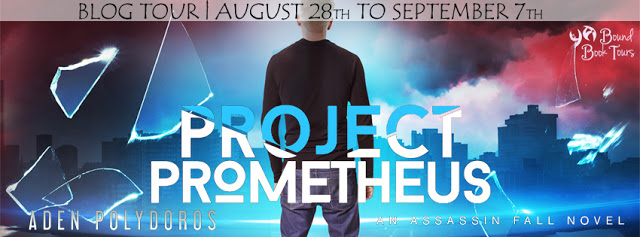 Blog Tour Review with Giveaway:  Project Prometheus (Assassin Fall #2) by Aden Polydoros
