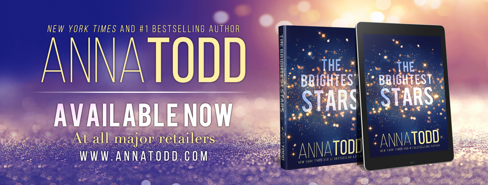 Release Blitz with Contest:  The Brightest Stars by Anna Todd