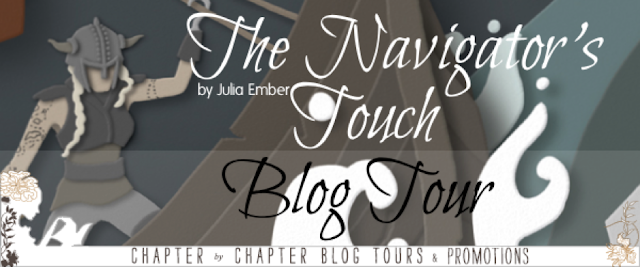 Blog Tour Excerpt with Giveaway:  The Navigator's Touch (The Seafarer's Kiss #2) by Julia Ember