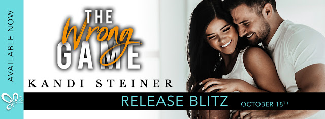 Release Blitz Review:  The Wrong Game by Kandi Steiner
