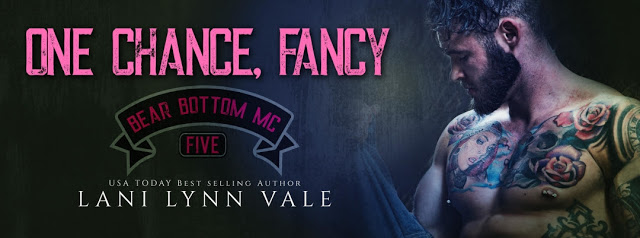 Cover Reveal:  One Chance, Fancy (The Bear Bottom Guardians MC #5) by Lani Lynn Vale