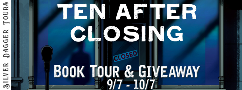 Promo Post with Giveaway:  Ten After Closing by Jessica Bayliss