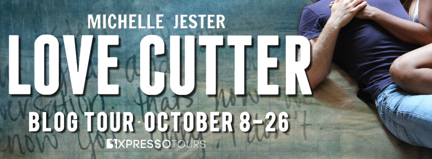 Blog Tour Author Interview with Giveaway:  Love, Cutter by Michelle Jester