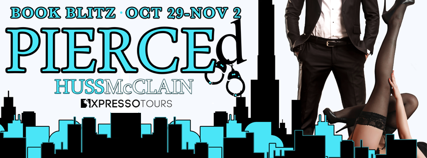 Book Blitz with Giveaway:  Pierced (Tall, Dark, and Handsome #2 (Sexpert #2)) by J.A. Huss and Johnathan McClain