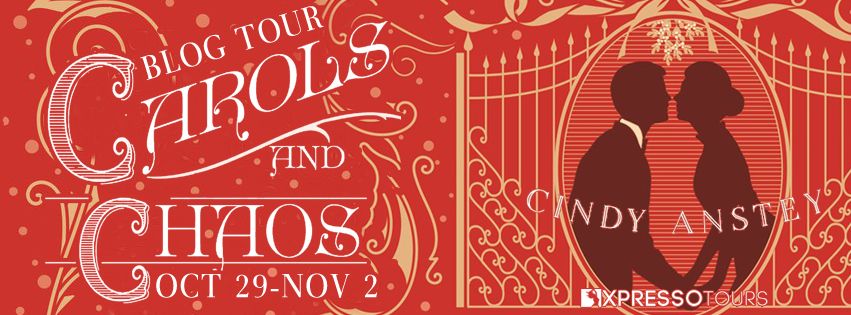 Blog Tour Author Interview with Giveaway:  Carols and Chaos by Cindy Anstey