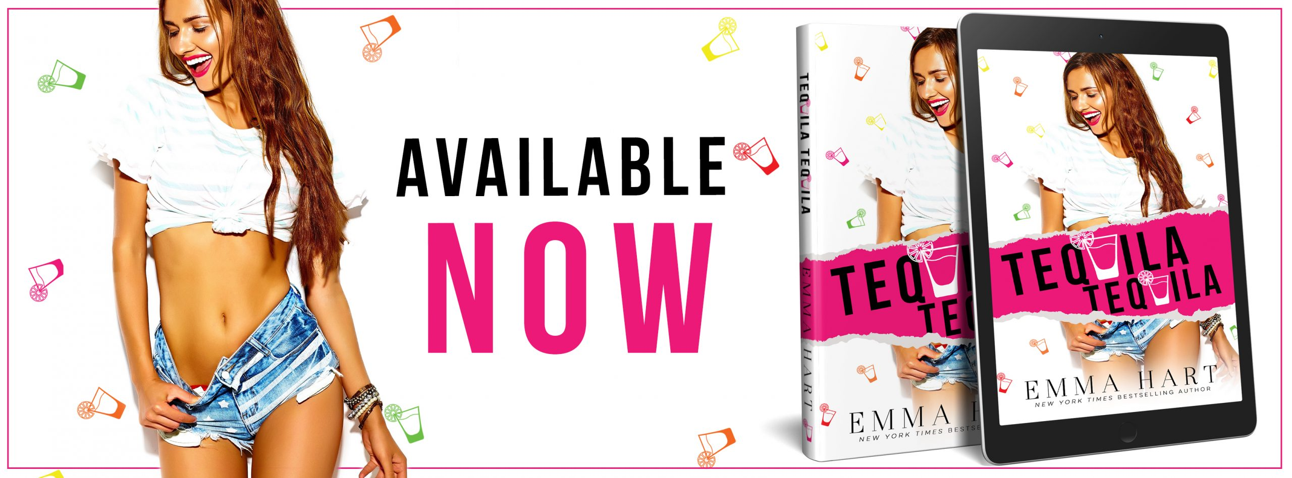 Blog Tour Review with Excerpt:  Tequila, Tequila by Emma Hart