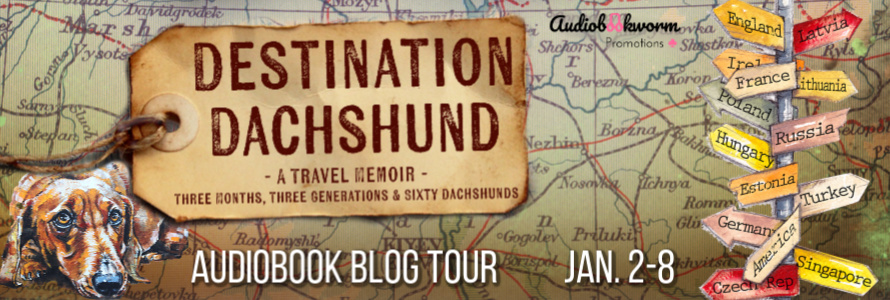 Blog Tour with Audio Excerpt and Giveaway:  Destination Dachshund by Lisa Fleetwood