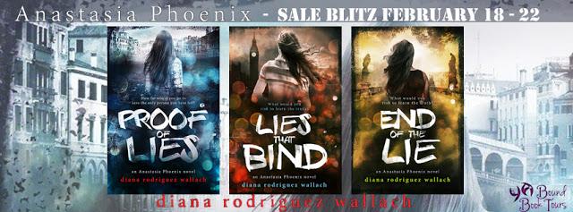 Sales Blitz:  Anastasia Phoenix Series by Diana Rodriguez