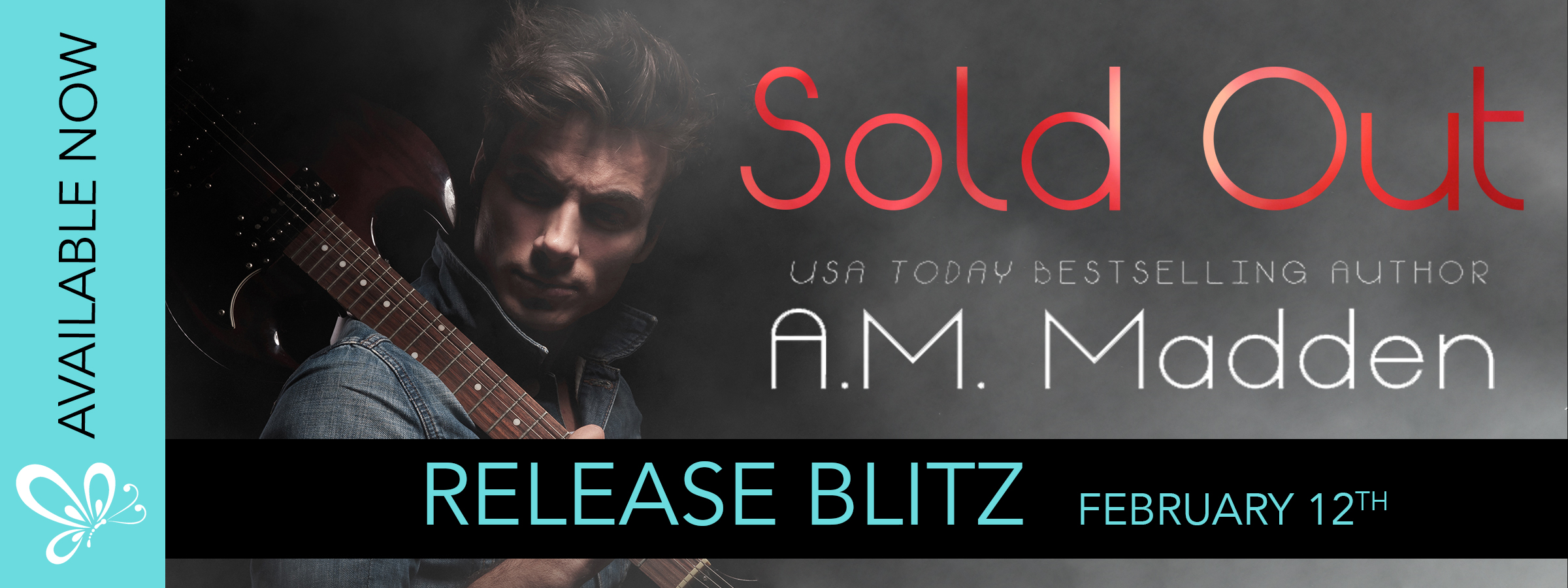 Release Blitz:  Sold Out (The Back-Up Series) by A.M. Madden