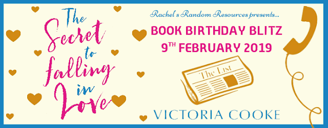 Book Birthday Blitz Review with Giveaway (UK only):  The Secret to Falling in Love by Victoria Cooke