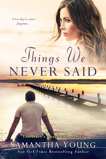 Cover Reveal: Things We Never Said (A Hart's Boardwalk Novel #5) by Samantha Young