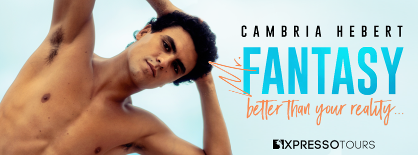 Cover Reveal:  Mr. Fantasy by Cambria Hebert