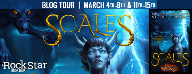 Blog Tour with Giveaway:  Scales (Spirits of Chaos #1) by Nicole Conway