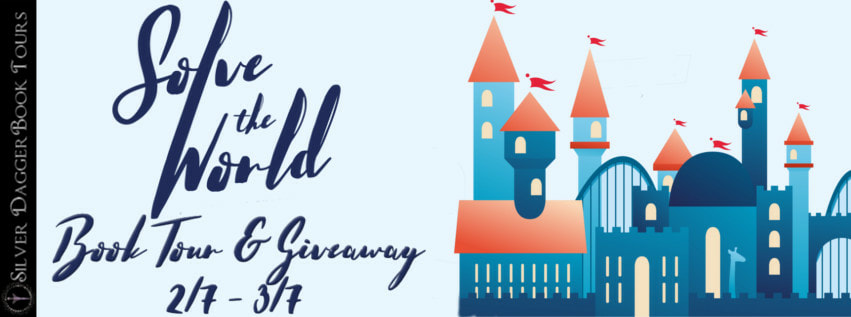 Blog Tour with Giveaway:  Solve the World Series by Dante Stack