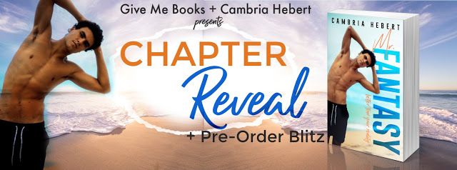 Chapter Reveal and Pre-Order Blitz with Giveaway:  Mr. Fantasy by Cambria Hebert