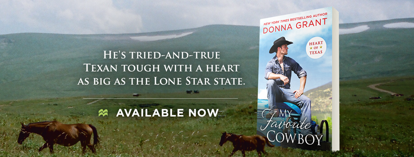Blog Tour:  My Favorite Cowboy (Heart of Texas #3) by Donna Grant