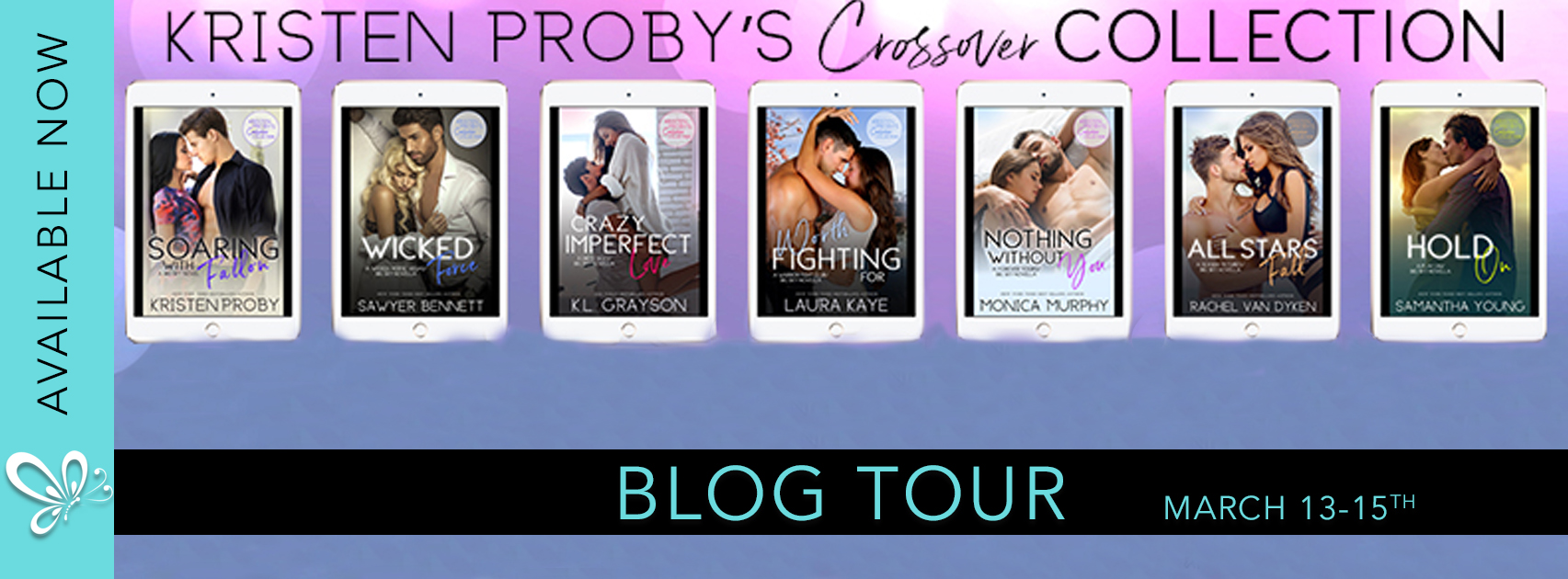 Blog Tour Review:  Hold On by Samantha Young – Part of Kristen Proby's Crossover Collection