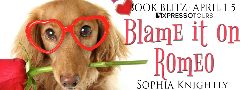 Book Blitz with Giveaway:  Blame it on Romeo (Beach Read #2) by Sophia Knightly