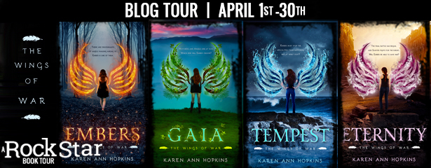 Blog Tour with Giveaway:  The Wings of War Series by Karen Ann Hopkins