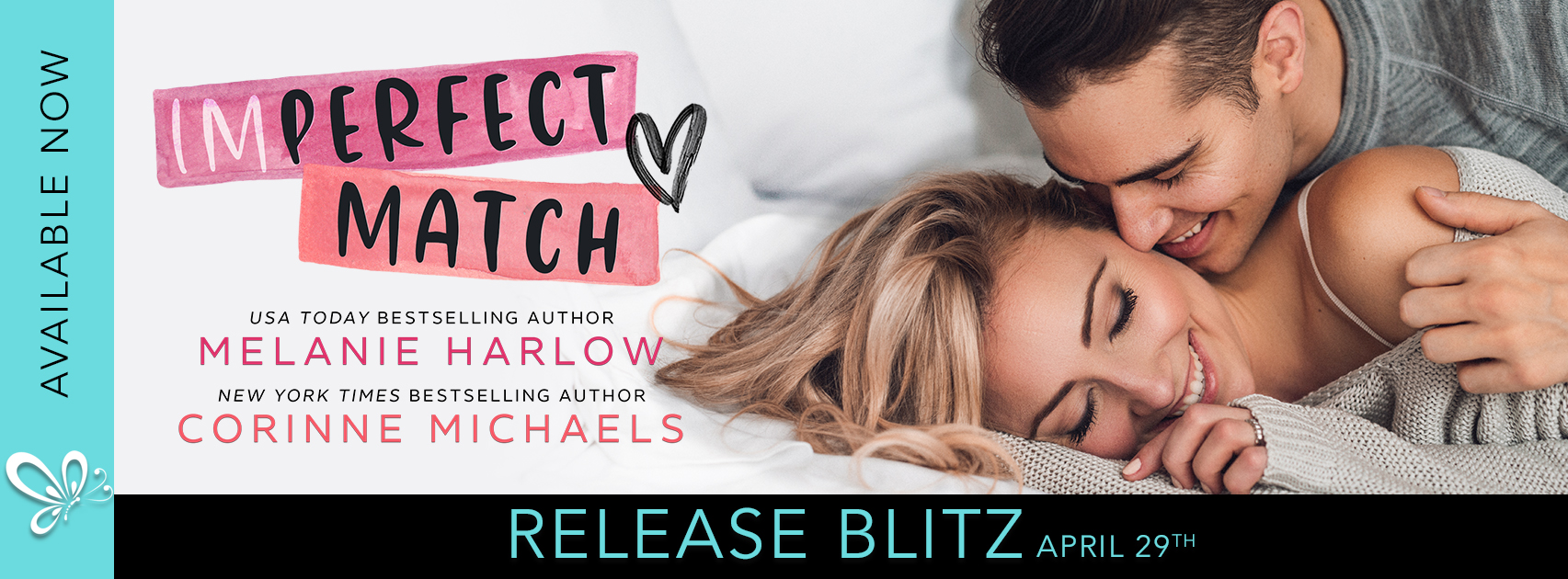 Release Blitz:  Imperfect Match by Melanie Harlow and Corinne Michaels