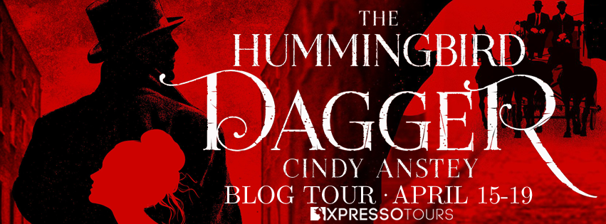 Blog Tour Review with Giveaway:  The Hummingbird Dagger by Cindy Anstey