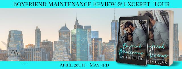 Release Tour Review:  Boyfriend Maintenance (425 Madison #5) by Lauren Helms