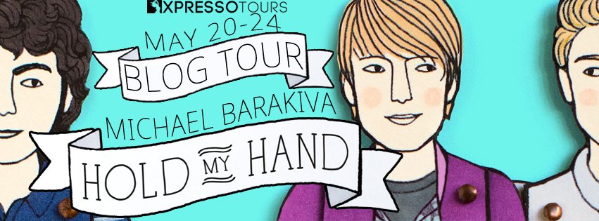 Blog Tour Author Interview with Giveaway:  Hold My Hand by Michael Barakiva