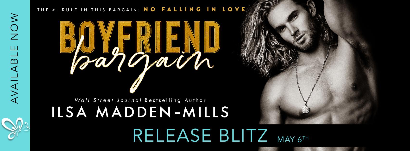 Release Blitz:  Boyfriend Bargain by Ilsa Madden-Mills
