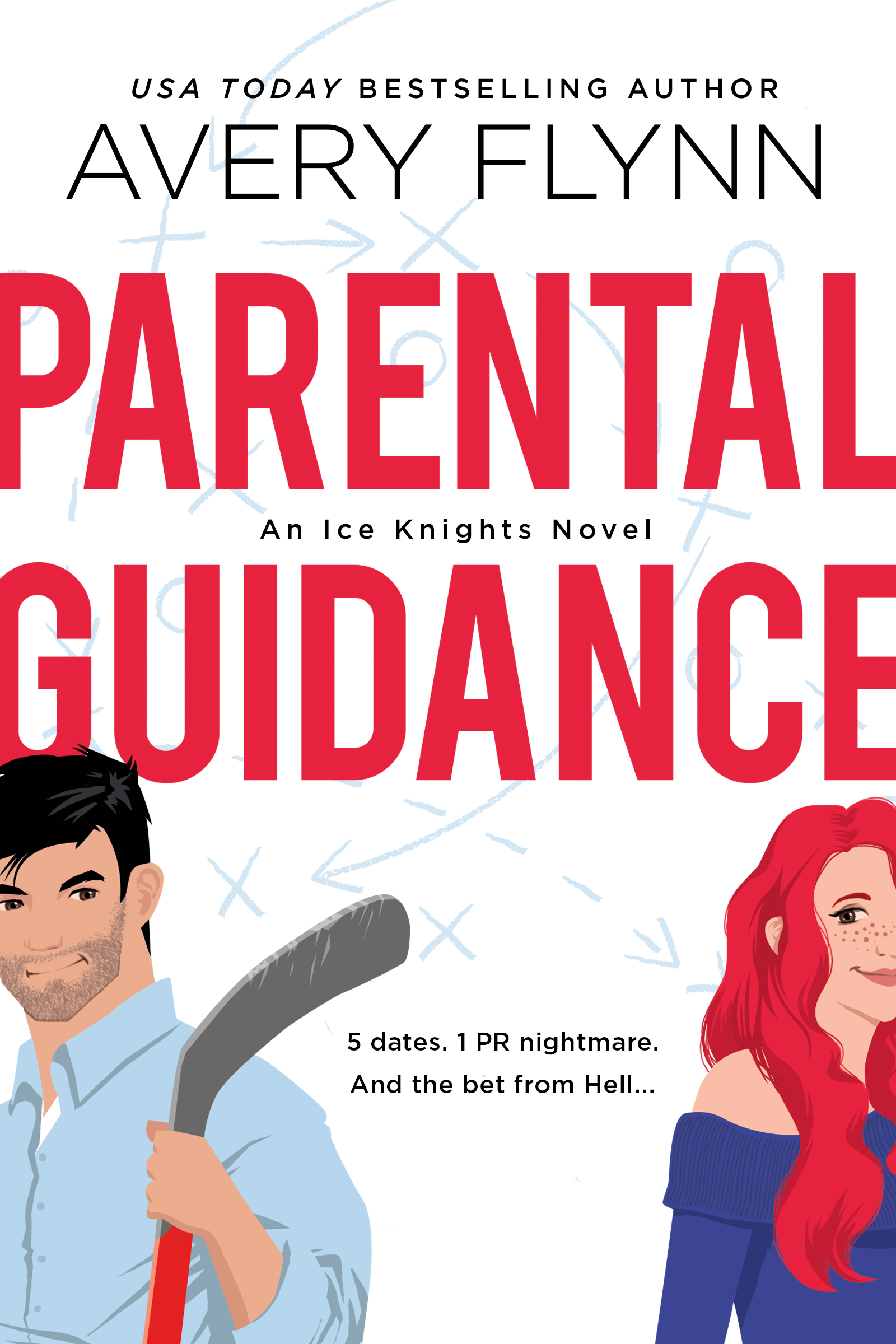 Cover Reveal:  Parental Guidance by Avery Flynn