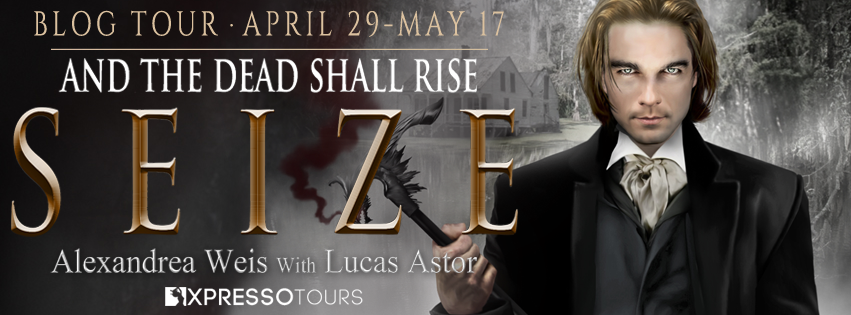 Blog Tour Author Interview with Giveaway:  Seize (Magnus Blackwell #3) by Alexandrea Weis and Lucas Astor