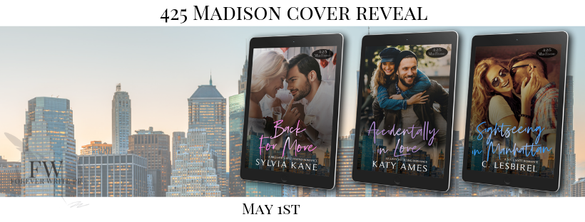 Cover Reveal for the Final Three 425 Madison Avenue Books