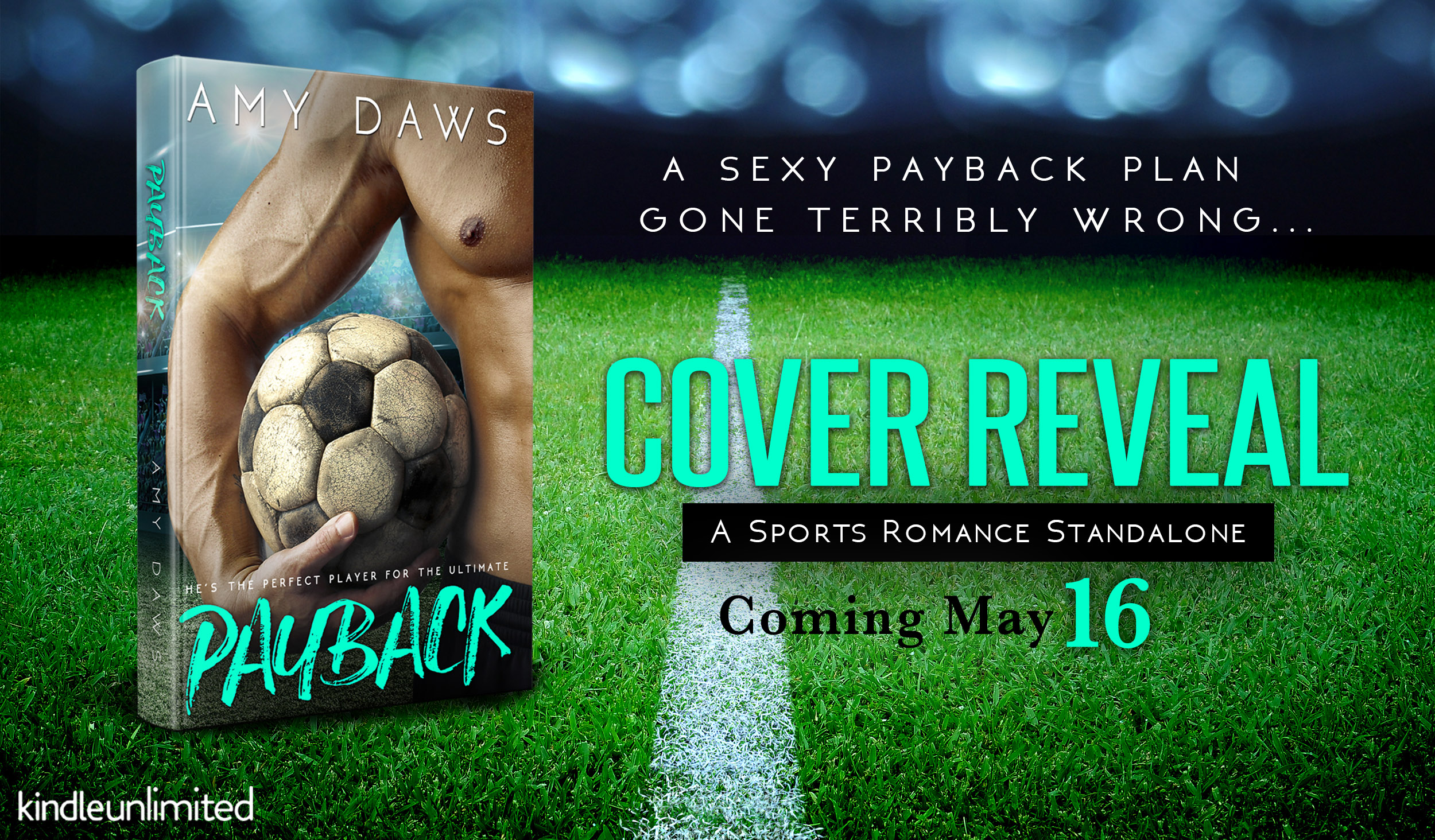 Cover Reveal with Giveaway:  Payback by Amy Daws
