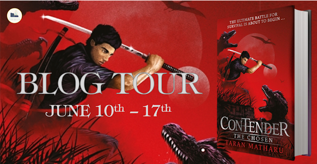 Blog Tour Review:  The Chosen (Contender #1) by Taran Matharu